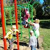 Открытие детской площадки 2013