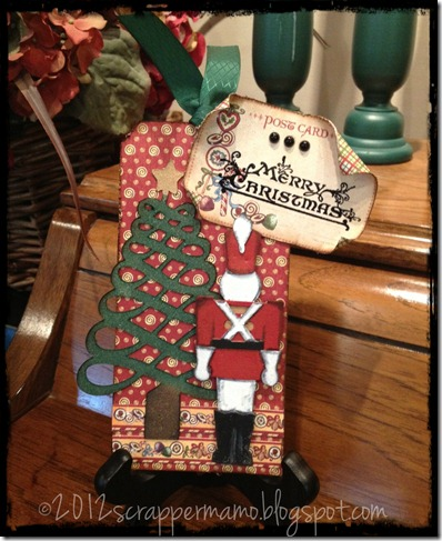 toy soldier and tree tag w border