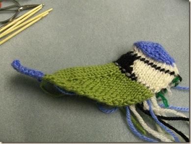 Knit tail