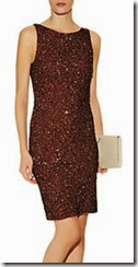 Alice and Olivia Stretch Sequin Dress with Low Back