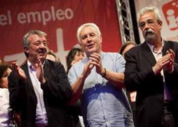Cayo Lara, Angel Pérez, Gregorio Gordo (2)