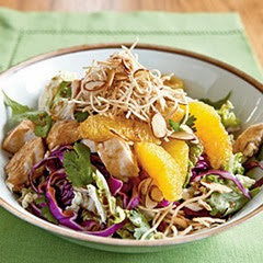 Asian chicken-salad