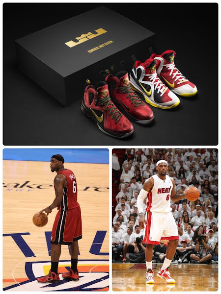 Nike LeBron 9 PS Elite Finals MVP 8211 LBJ PE vs Retail Version