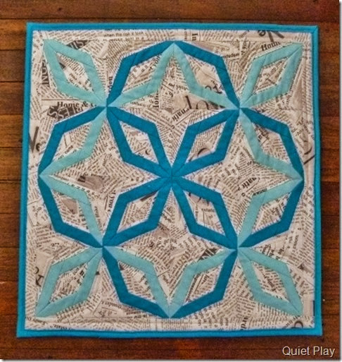 Something Blue DWR Challenge Quilt 2