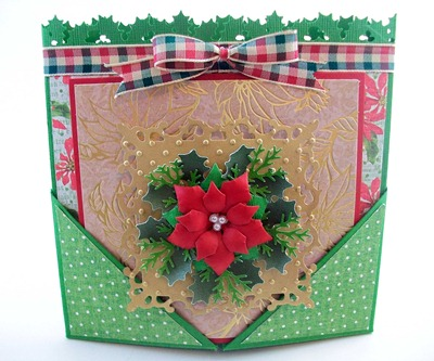 Holiday Wishes Gatefold Card