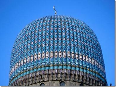 Kubah Masjid St. Petersburg