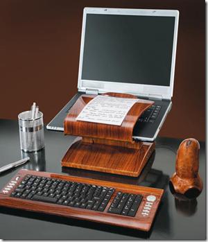 Escritorio de madera para oficinas decoracion de - Modelos de escritorios de madera ...