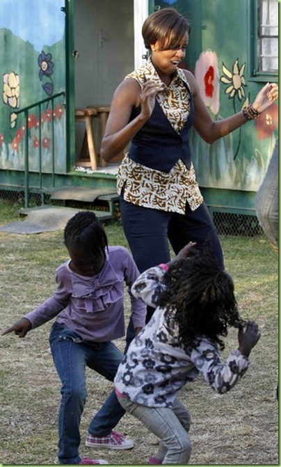 doin' the dougie in johannesburg