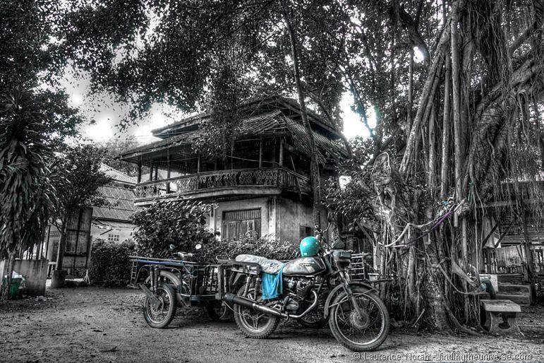 Jungle Temple Wat Khao Tho Nakon Si Thammarat Thailand