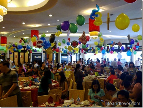 Chinese birthday party