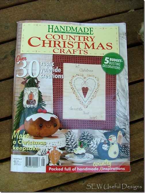 Handmade Country Christmas mag fc