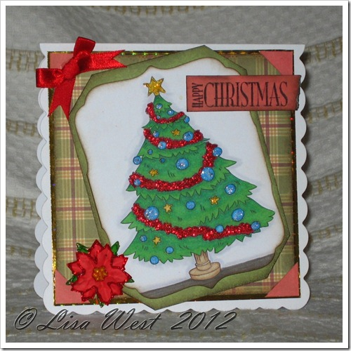 Lia Stampz Christmas Tree Card (2)