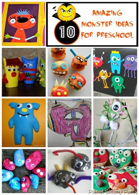 10 Amazing Monster Ideas for Preschoolers