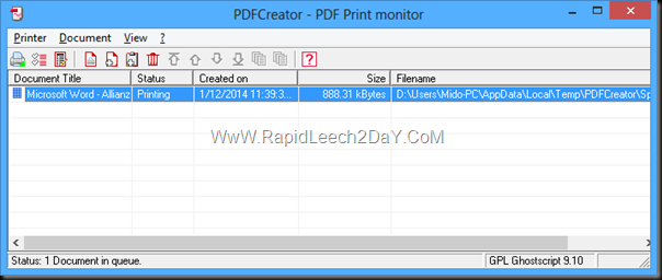 Creating PDFs Made Easy With PDFCreator
