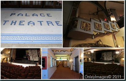 palace theatre collage