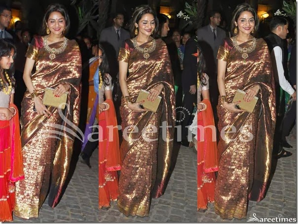 Madhu_Bala_Maroon_Gold_Traditional_Silk_Saree