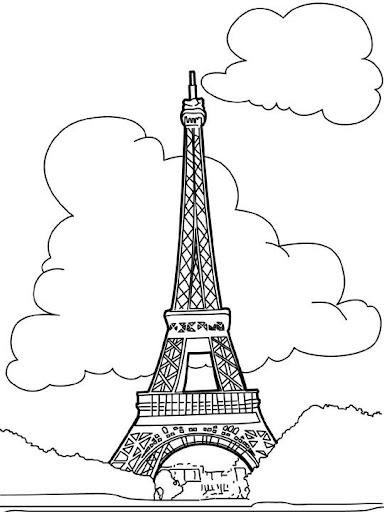 La torre eiffel para dibujar - Imagui