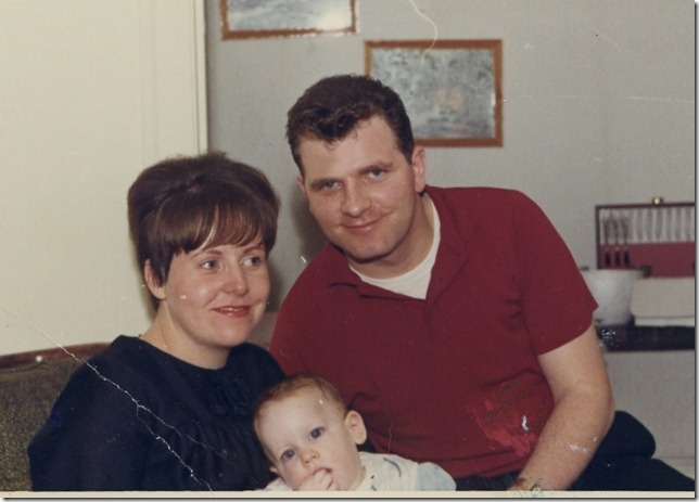 201 Dad and Mom with Baby Karen
