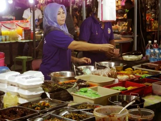 Curry at Sibu Night Market