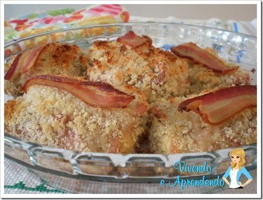 Sobrecoxa Crocante com Bacon