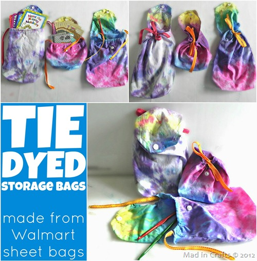 Tie Dyed Storage Bags