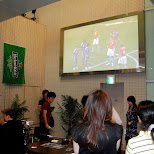 holland vs japan soccer in Tokyo, Tokyo, Japan