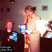 Copy of Hillary Clinton US First Lady holding OA ticket with Loula Loi Alafoyiannis.jpg