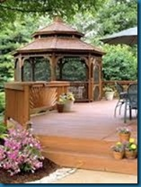 gazebos, decks