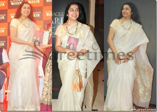 Suhasini_White_Traditional_Silk_Saree