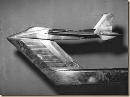 Scan3878NASA Transonic tunel -  F-15 model