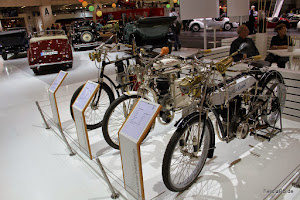 Laurin & Klement Motoräder 1900 - 1905