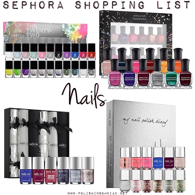 Sephora Wish List - Nail Polishes