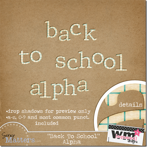 Back To School ALPHA