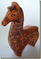 vintage Bitossi style horse