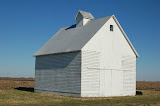 """White Barn, Blue Sky"" - copyright David Thompson"