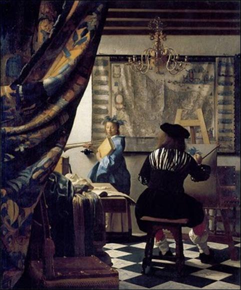 Vermeer, L'atelier