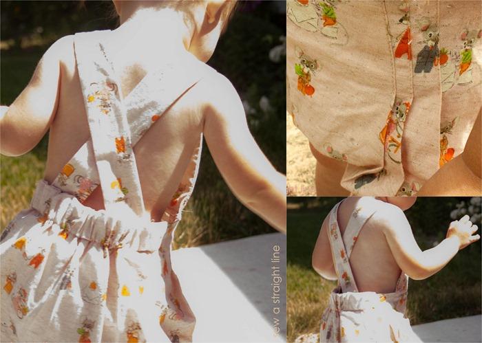mccalls 1330 vintage sunsuit details