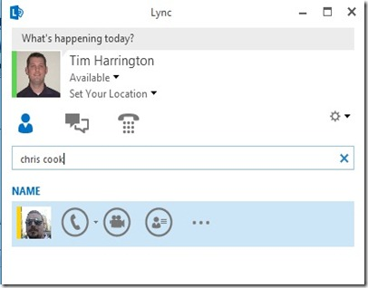Lync 2013 - Disable IM - IM disabled