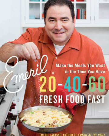 20-40-60 Fresh Food Fast is available in the Martha Stewart online shop.