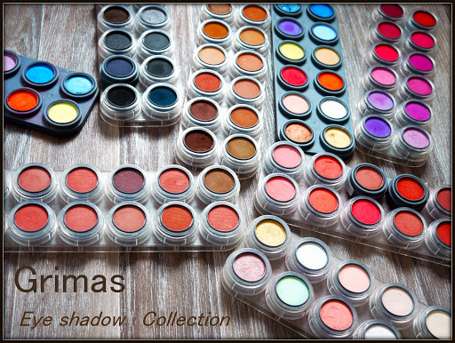 Grimas Eye Shadow Collection