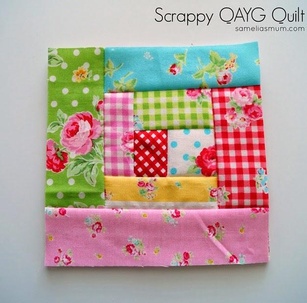 Scrappy QAYG Quilt