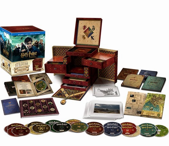 Box Harry Potter Wizard's Collection Fantasia BR