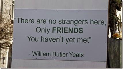 Cita de Yeats