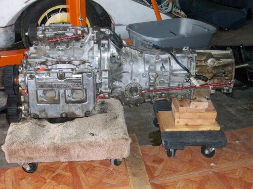chassis 500HP 2.5L Subaru