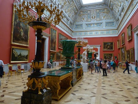 Circuit Rusia: Muzeul Ermitaj  - interior