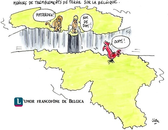 Umor francofòne de Belgica
