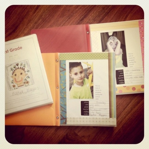 personal yearbooks free printables