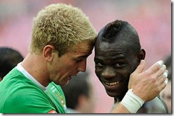 Balotelli y Hart