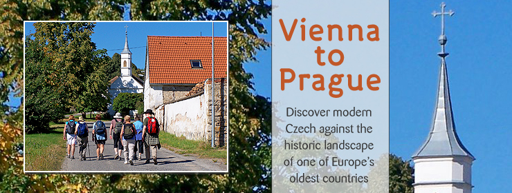Vienna to Prague | http://www.thewayfarers.com/Our-Walks/European-Walks/Vienna-to-Prague/