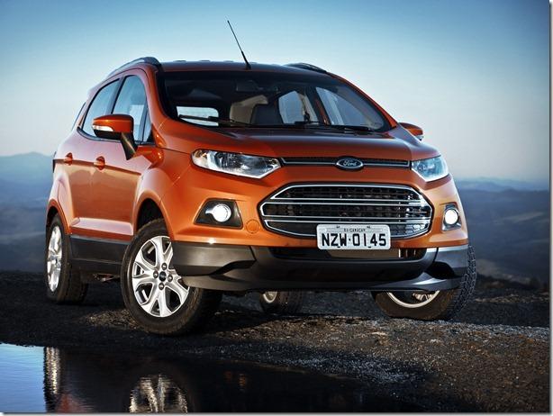 Ford Motor Companhy Brasil lLtda Lançamento do Novo EcoSport Natal - Agosto 2012